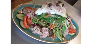 Tintenfisch-Salat